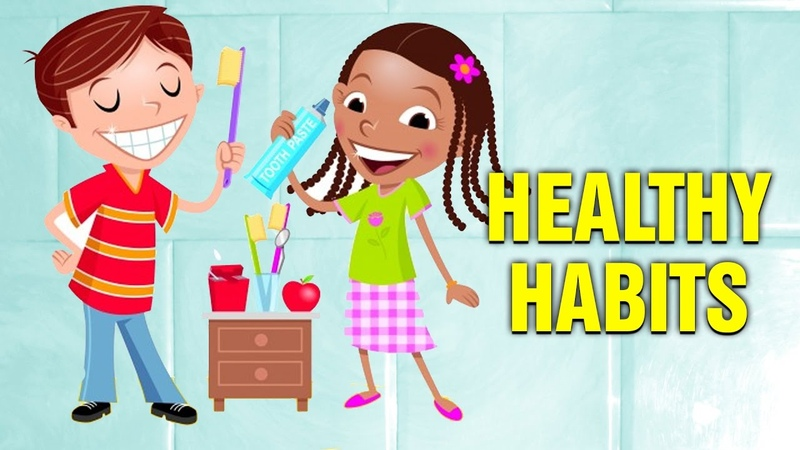 Healthy Habits For Kids Pre school Learning For Babies and Toddlers
