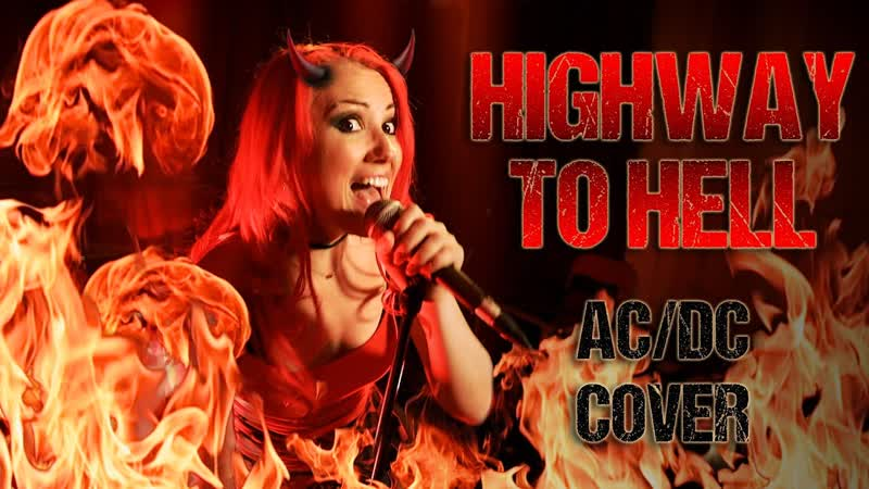 Julia Ivanova Highway to Hell AC DC cover