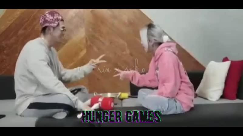 Hinger games rin x saiko