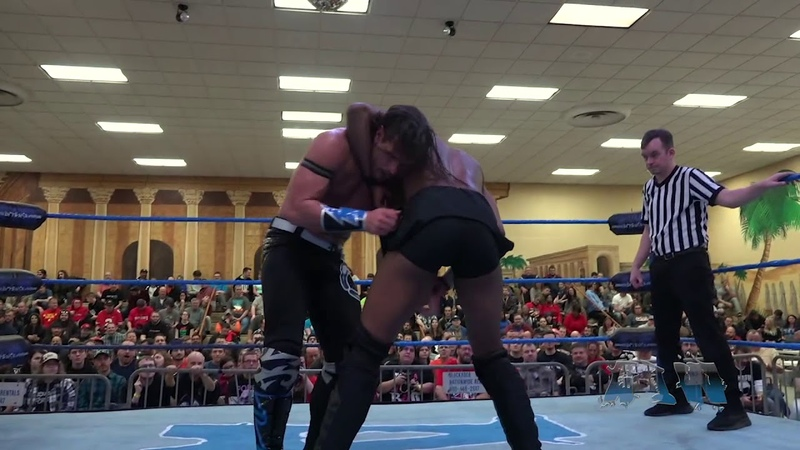 [My1] Alex Shelley VS Lee Moriarty - Absolute Intense Wrestling